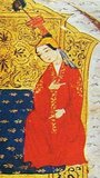Sorghaghtani Beki or Bekhi, also written Sorkaktani, Sorkhokhtani, Sorkhogtani, Siyurkuktiti (c. 1198-1252), a Kereyid princess of the Nestorian Christian faith and daughter-in-law of Temujin (later known as Genghis Khan), was one of the most powerful and competent women in the Mongol Empire. Married to Tolui, Genghis' youngest son, she raised her sons to be leaders, and maneuvered the family politics so that all four of her sons, Mongke Khan, Hulagu Khan, Ariq Boke, and Kublai Khan, were to inherit the legacy of their grandfather. As a moving spirit behind the Mongol Empire, Sorghaghtani is responsible for much of the trade openings and intellectual exchange made possible by this, the largest contiguous empire in world history. As such, she may count among the most influential women in world history.