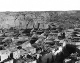 Rooftops of old Aksu, Xinjiang. Photograph by Dutch botanist Frank Nicholas Meyer, 1911.